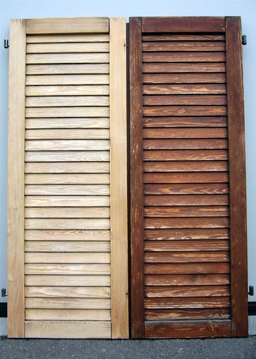 Come verniciare infissi e serramenti in legno possofare - Restauro finestre in legno ...