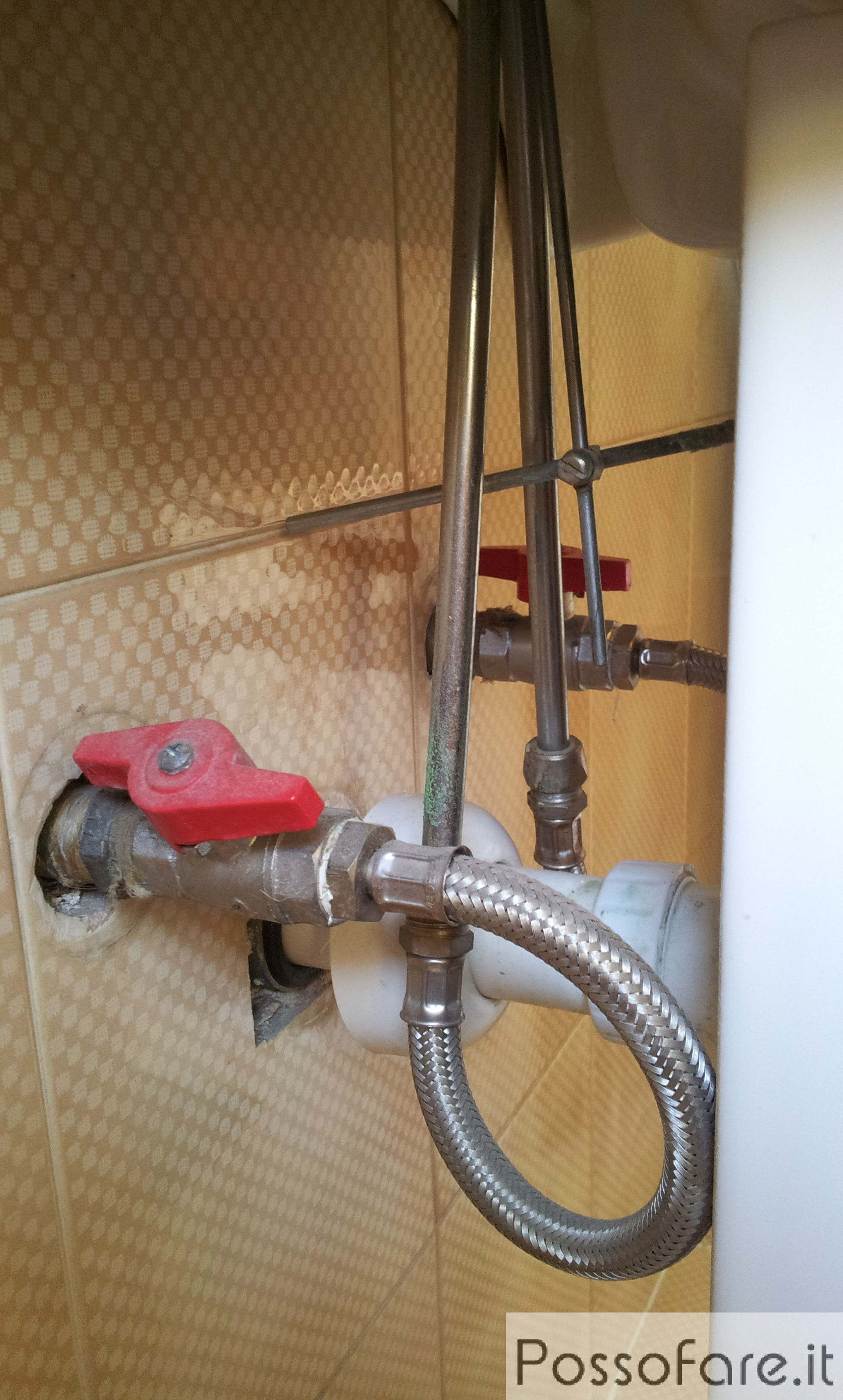 Valvola di chiusura dell 39 acqua cucina e bricolage - Valvola chiusura acqua bagno ...